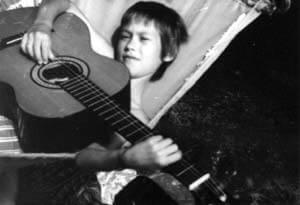 Biografie Jack Demare, die erste Gitarre